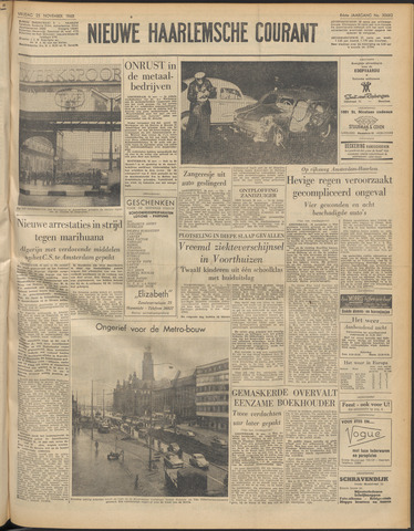 Nieuwe Haarlemsche Courant 1960-11-25