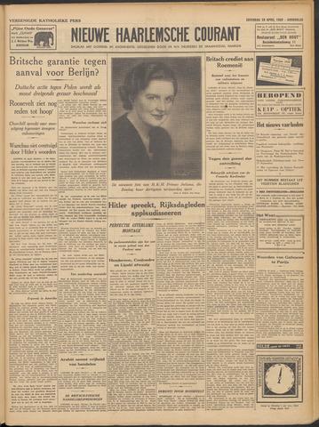 Nieuwe Haarlemsche Courant 1939-04-29