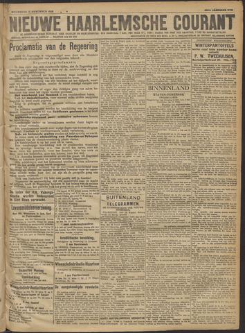 Nieuwe Haarlemsche Courant 1918-11-13