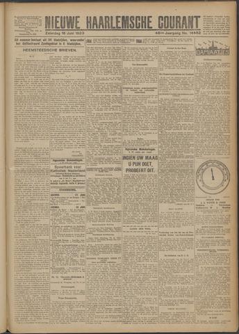 Nieuwe Haarlemsche Courant 1923-06-16