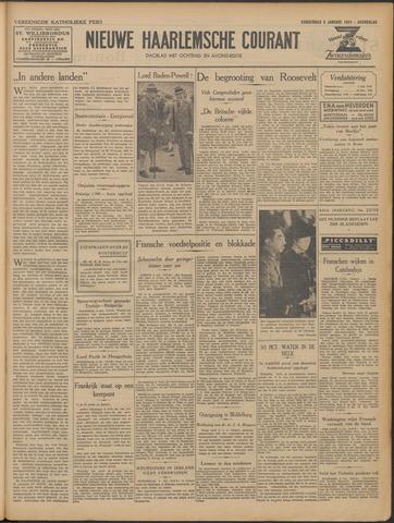 Nieuwe Haarlemsche Courant 1941-01-09
