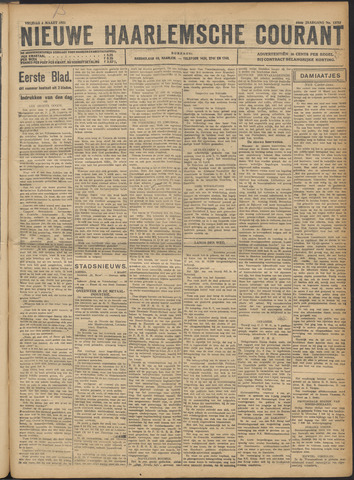 Nieuwe Haarlemsche Courant 1921-03-04