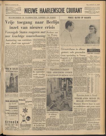Nieuwe Haarlemsche Courant 1961-08-25