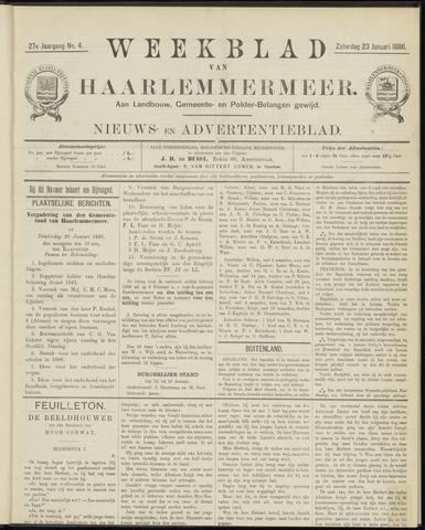 Weekblad van Haarlemmermeer 1886-01-23
