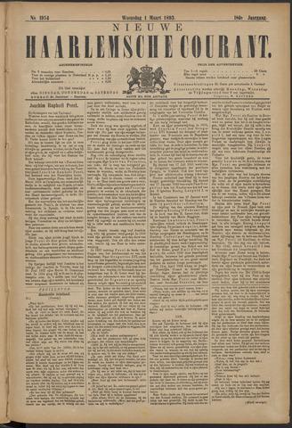 Nieuwe Haarlemsche Courant 1893-03-01