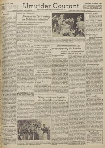 IJmuider Courant 1948-02-19
