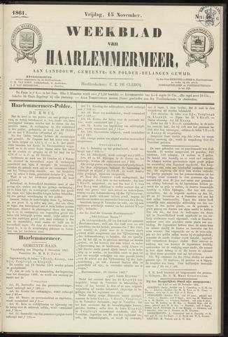 Weekblad van Haarlemmermeer 1861-11-15