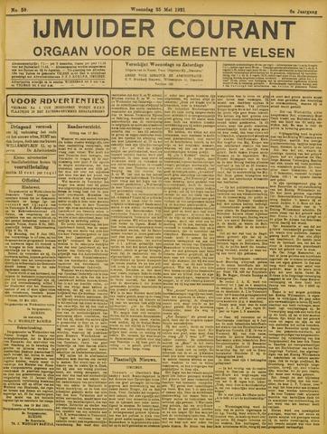 IJmuider Courant 1921-05-25