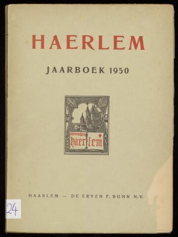 Jaarverslagen en Jaarboeken Vereniging Haerlem 1950