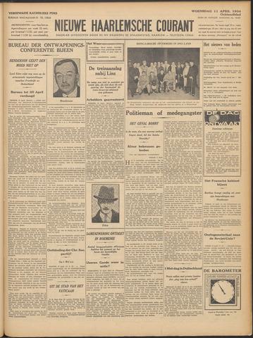 Nieuwe Haarlemsche Courant 1934-04-11
