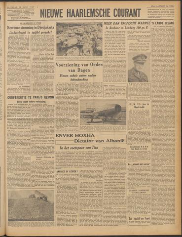 Nieuwe Haarlemsche Courant 1947-06-28