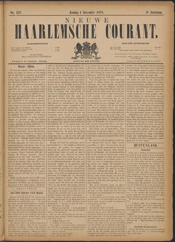 Nieuwe Haarlemsche Courant 1878-12-01