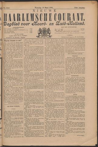 Nieuwe Haarlemsche Courant 1898-03-30