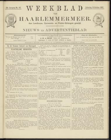 Weekblad van Haarlemmermeer 1887-10-15