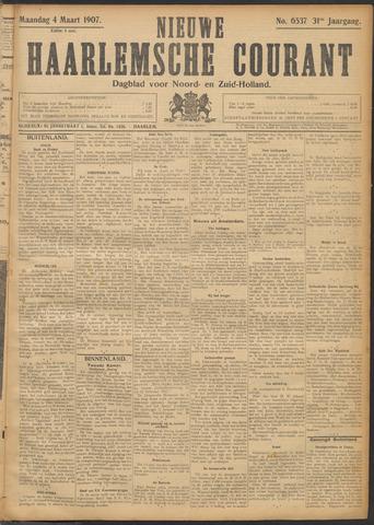 Nieuwe Haarlemsche Courant 1907-03-04