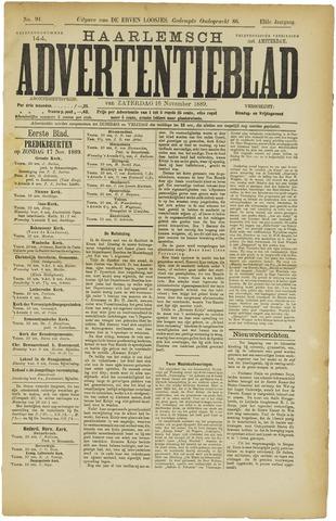 Haarlemsch Advertentieblad 1889-11-16