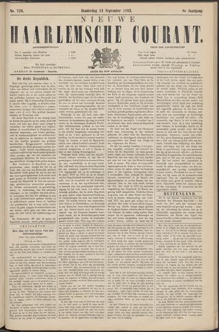 Nieuwe Haarlemsche Courant 1883-09-13