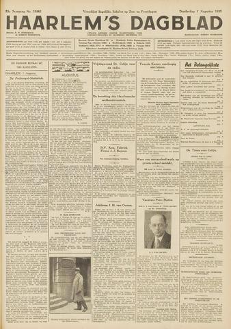 Haarlem's Dagblad 1935-08-01