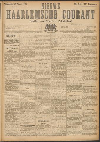 Nieuwe Haarlemsche Courant 1907-03-20