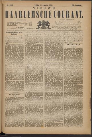 Nieuwe Haarlemsche Courant 1893-08-11