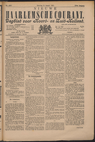 Nieuwe Haarlemsche Courant 1901-01-12