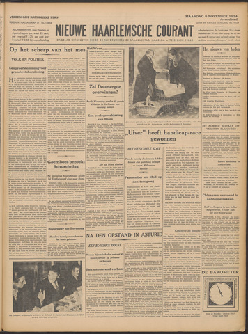 Nieuwe Haarlemsche Courant 1934-11-05