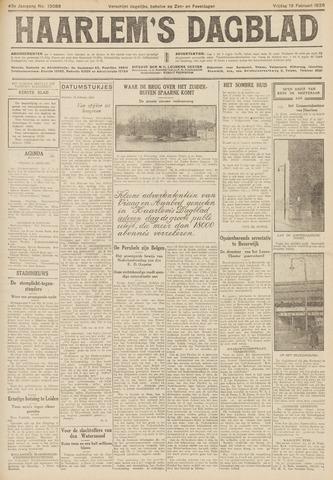 Haarlem's Dagblad 1926-02-19