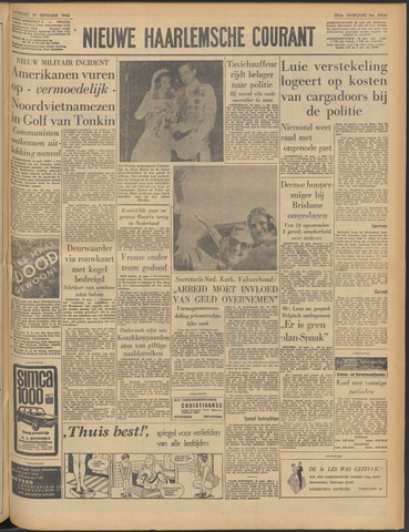 Nieuwe Haarlemsche Courant 1964-09-19