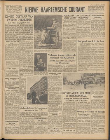 Nieuwe Haarlemsche Courant 1950-10-30