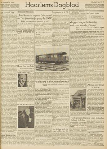 Haarlem's Dagblad 1947-04-08