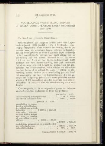 Raadsnotulen Heemstede 1941-08-29