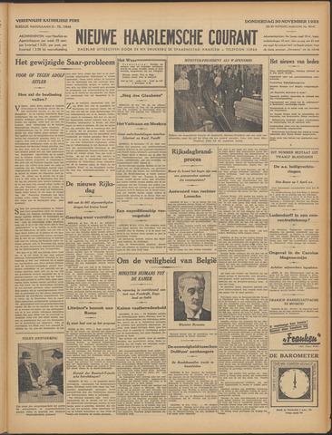 Nieuwe Haarlemsche Courant 1933-11-30