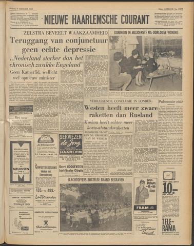 Nieuwe Haarlemsche Courant 1962-11-09