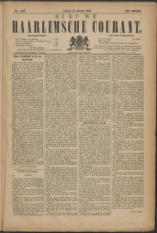 Nieuwe Haarlemsche Courant 1889-10-25