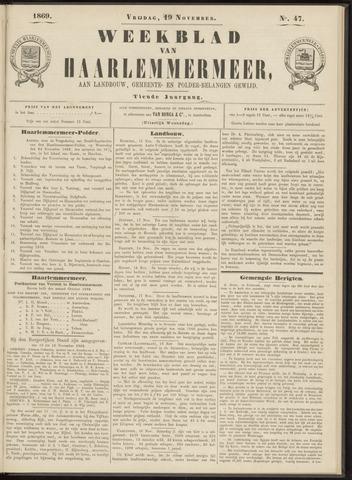 Weekblad van Haarlemmermeer 1869-11-19