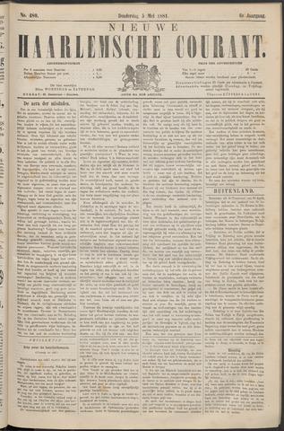 Nieuwe Haarlemsche Courant 1881-05-05