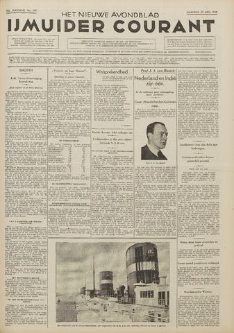 IJmuider Courant 1938-04-25