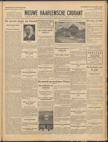 Nieuwe Haarlemsche Courant 1934-03-29