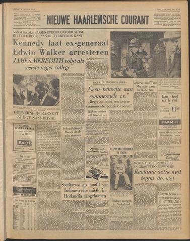 Nieuwe Haarlemsche Courant 1962-10-02