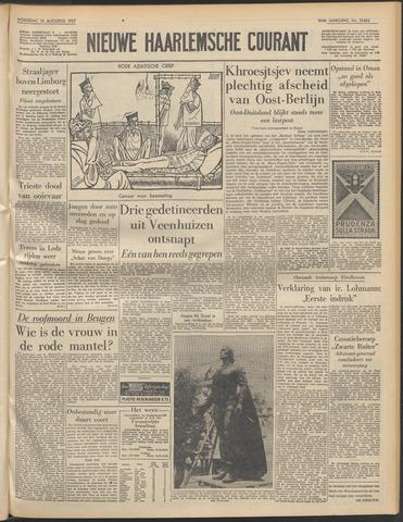 Nieuwe Haarlemsche Courant 1957-08-14