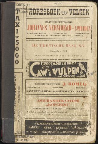 Adresboeken Velsen 1952