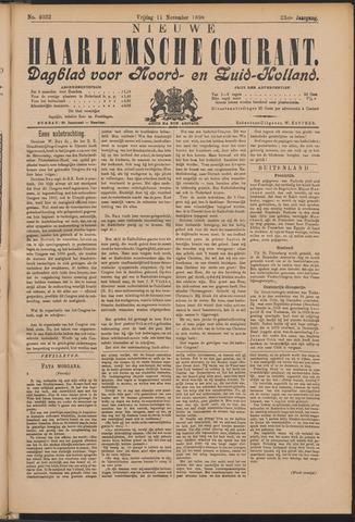Nieuwe Haarlemsche Courant 1898-11-11