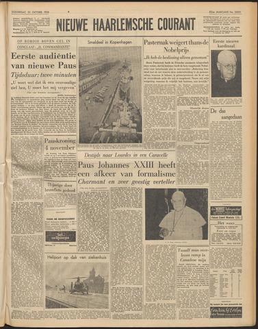 Nieuwe Haarlemsche Courant 1958-10-30