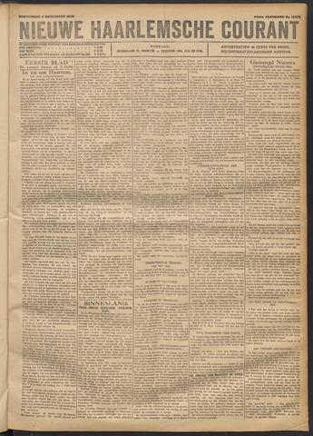 Nieuwe Haarlemsche Courant 1920-11-04