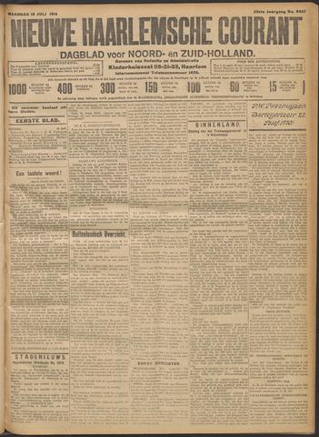 Nieuwe Haarlemsche Courant 1914-07-13