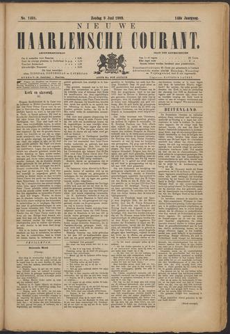 Nieuwe Haarlemsche Courant 1889-06-09