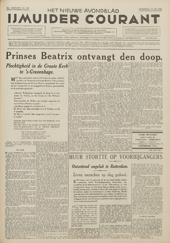 IJmuider Courant 1938-05-12