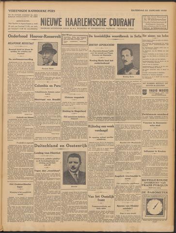 Nieuwe Haarlemsche Courant 1933-01-21