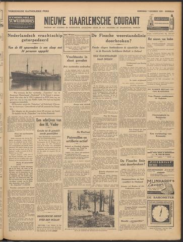 Nieuwe Haarlemsche Courant 1939-12-07