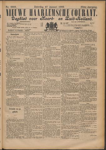 Nieuwe Haarlemsche Courant 1906-01-27